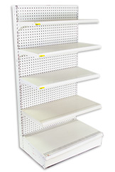 Lozier Gondolas Shelving by Accent Store Fixtures