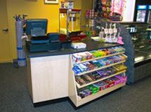 Cashwrap Check Out Counter Accent Fixtures